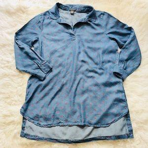 CHELSEA & THEODORE Lightweight Shirt Sz XL